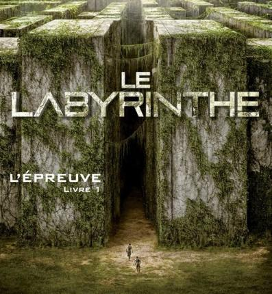 Couverture - ​​​​​​​Le labyrinthe (L'épreuve. #1.) de James Dashner